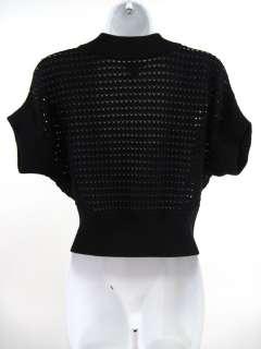 KENNETH COLE REACTION Black Knit Bolero Cardigan Sz XS