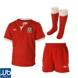 Wales Home Boys Football Kit 2011/2012 (Infant)
