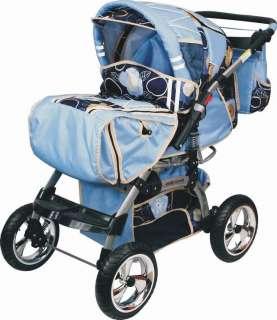 LUXUS Kombi Kinderwagen ORION ALU 55 Farben + GRATIS!!!