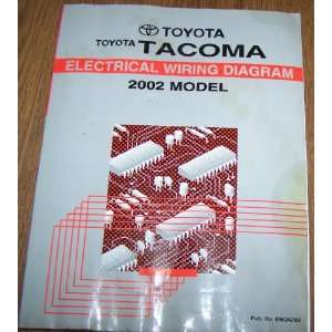2002 Toyota Tacoma Electrical Wiring Diagram Repair Manual