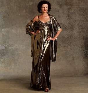 V 1079 Patron couture Robe de soirée T46 50