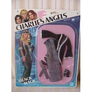 Hasbro Charlies Angels Black Magic Doll Outfit with