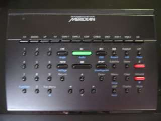 MERIDIAN   561 digital surround controller + 596 DVD player