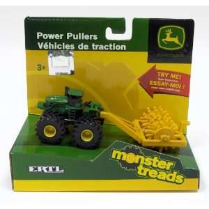 Ertl John Deere Power Pullers Monster Treads Small Green