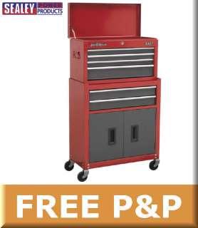 Sealey Steel Toolbox & Rollcab Tool Box/Chest AP2200BB
