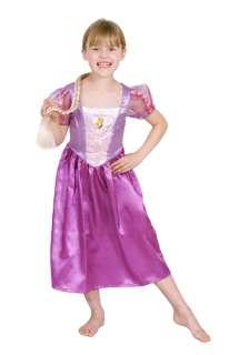 Rapunzel Carnival Dress Up Costume (size 6 8)