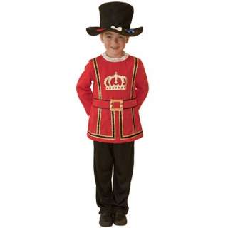 Royal Guard Kids British National Dress Boys Fancy Dress Child Costume