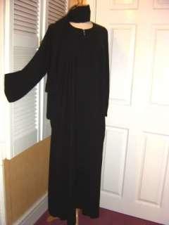SIZE 56 Black Jilbab Abaya hijab niqab dress burqa veil