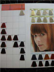 KEUNE TINTA COLOR PROFESSIONAL HAIR COLOR CHART NEW