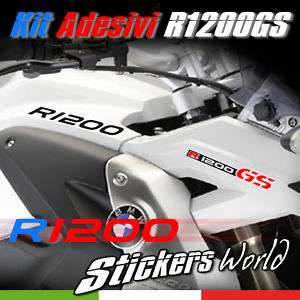 KIT ADESIVI BMW R 1200 GS STICKER DECAL R1200GS BMW
