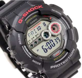 Casio G Shock World Time Alarm Chrono Digital GD100 1A