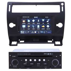 04 10 Citroen C4 Car GPS Navigation Radio DVB T TV Bluetooth IPOD MP3