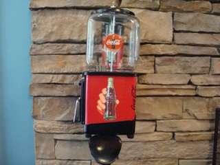 Victor *COCA COLA* Gumball Vending Machine Cup Stand Coke Pepsi