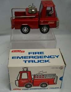 Vintage Boxed Real Steel BUDDY L Jr No 5101 Fire Emergency Toy Truck