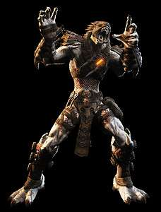 XBox 360 Gears of War 3 Savage Kantus Shaman Multiplayer Character