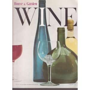 House & Garden Wine Book Chris (editor) Haskett Smith Books