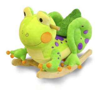 New Fergie Frog Rocker Musical Rocking Horse Animal