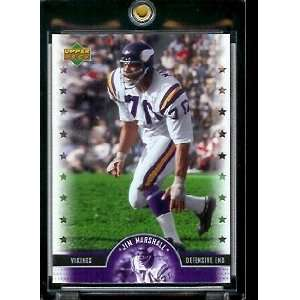 2005 Upper Deck Legends Jim Marshall Minnesota Vikings