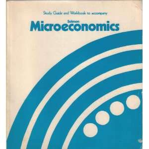 to Accompany Microeconomics (9780201074390): lewis c. solmon: Books