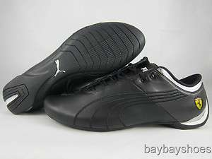 PUMA FUTURE CAT M1 BIG CAT SF FERRARI BLACK/SILVER/CHROME/WHITE MENS