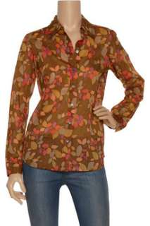 Marc Jacobs Printed sheer cotton shirt   60% Off Now at THE OUTNET