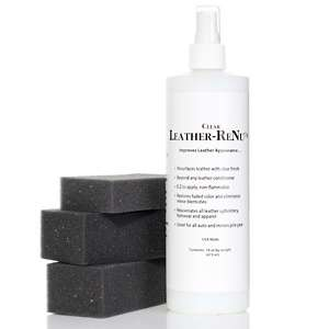 Leather ReNu Leather Restoration Kit with Sponges at HSN