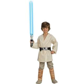 Star Wars Deluxe Luke Skywalker Child Costume, 33111