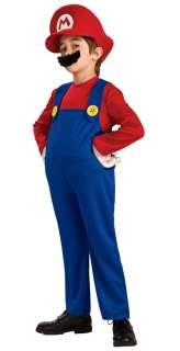 Toddler Deluxe Mario Costume   Nintendo Super Mario Brothers Costumes