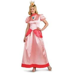 Super Mario Bros.   Princess Peach Adult Costume, 69257
