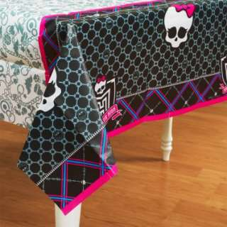 Monster High   Paper Tablecover   Costumes, 78876