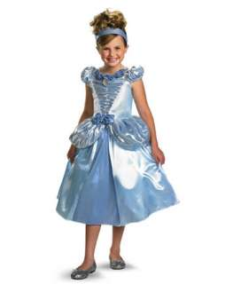 Girls Deluxe Shimmer Disney Cinderella Costume  Wholesale Disney