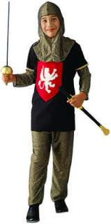 Medieval Knight costume includes 3 pieces : pants, shirt and fabric