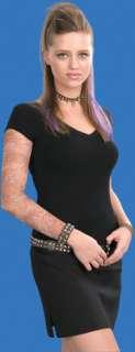 Miami Ink Sleeve Oriental Lady (Makeup & Tattoos)