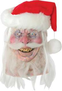 out, this Santa knows all about naughty and nice. Half dead with