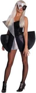 Lady Gaga Blk Sequin Dress Xs (Adult Costume)