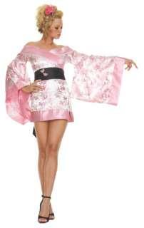 Adult Sexy Pink Geisha Girl Costume   Sexy Geisha Girl Halloween