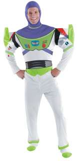 Toy Story Buzz Lightyear Deluxe Adult Costume   Includes jumpsuit