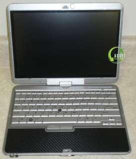 HP Compaq 2710p Windows 7, Notebook Tablet Laptop Dual Core 12 WiFi