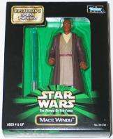 Star Wars Mace Windu Sneak Preview POF Figure 1998 MINT