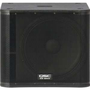 1000 Watt 18 Inch Active Subwoofer: Musical Instruments
