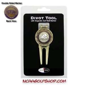 TCU Horned Frogs Divot Tool & Ball Marker TG1 Sports