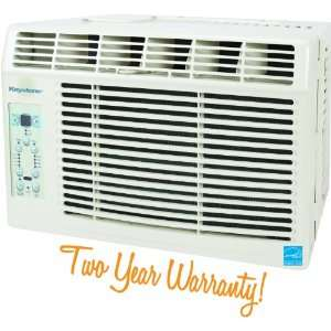 Window Mounted Air Conditioner with Follow Me LCD Remote Control