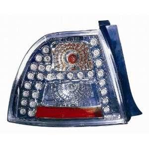 1968PXUSV Honda Accord Coupe/Sedan Chrome LED Tail Light Automotive