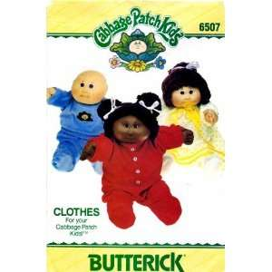 Pattern Cabbage Patch Kids Doll Clothes