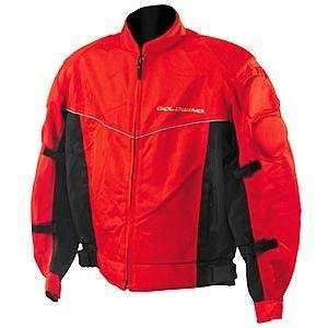 Womens Honda Gold Wing Air Tek Mesh Jacket   Large/Red Automotive