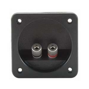 Square Speaker Terminal 3 1/8 Satin Nickel Binding Post Electronics
