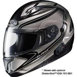 HJC CL Max 2 Zader Full Face Motorcycle Helmet MC 5 Black Small S 974