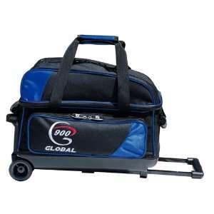 900 Global Value 2 Ball Roller Bowling Bag  Blue/Black