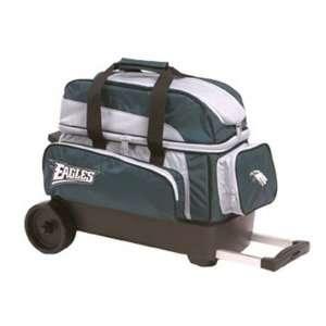 NFL Double Roller Bowling Bag  Philadelphia Eagles Sports