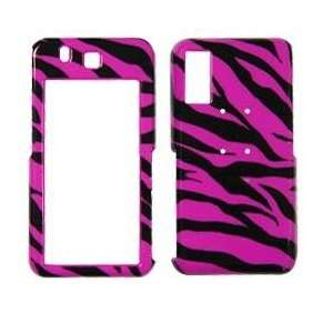 Behold T919 Hot Pink Zebra Design Phone Protector Case Cell Phones